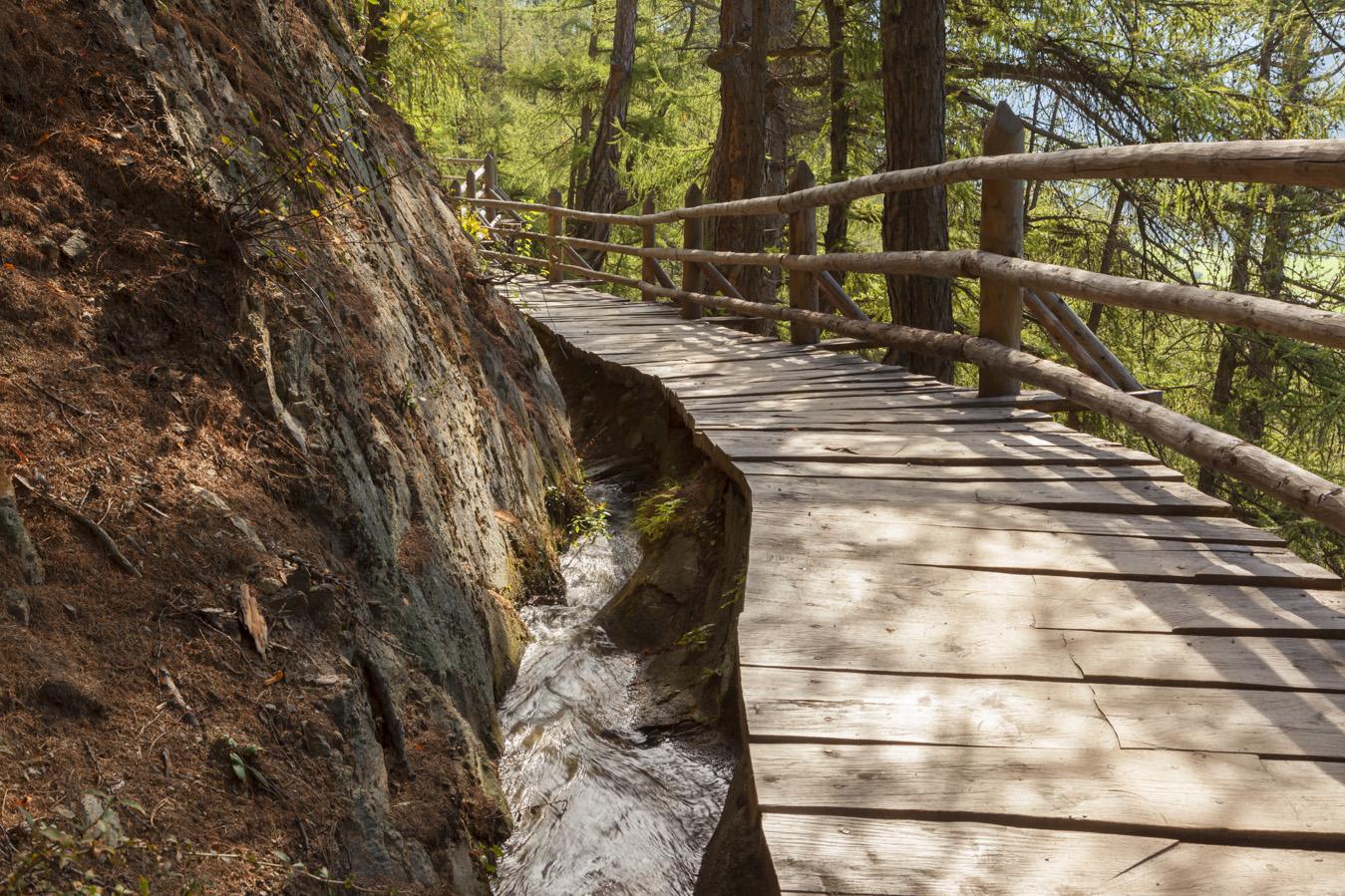 Le roggia in Val Venosta - Escursioni per la famiglia