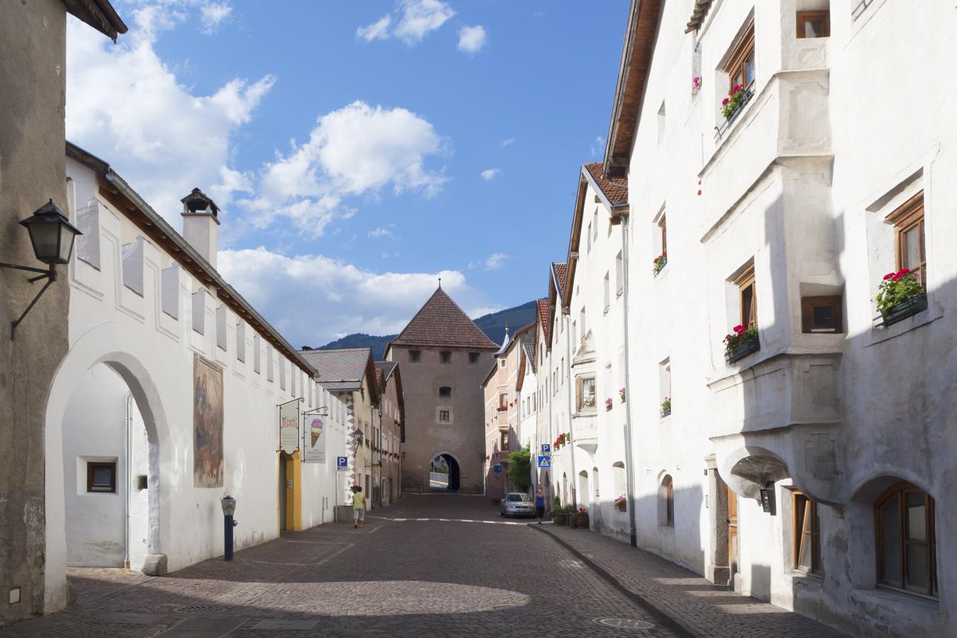 Glorenza, la piccola cittá medievale