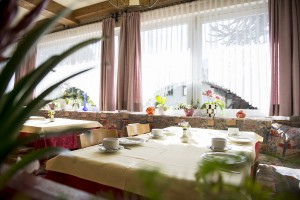 Frühstücksraum Pension Sonnenberg