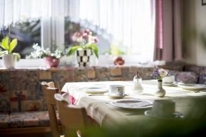 Frühstück in der Pension