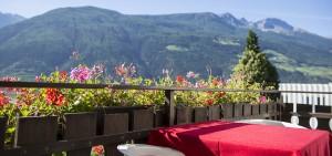 Blick vom Balkon auf Sonnenberg